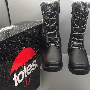 Totes Joelle Women's Winter Waterproof Snow-boots